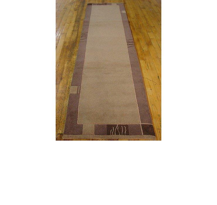 2' 8 x 9' 8 Modern Tibet Runner Rug
