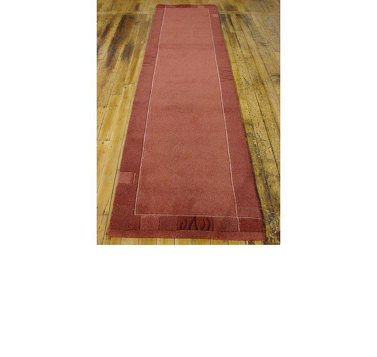 2' 7 x 9' 9 Indo Tibet Runner Rug