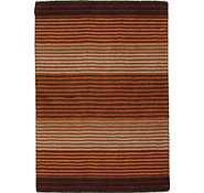 Link to 4' 2 x 6' Reproduction Gabbeh Rug