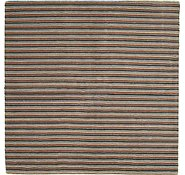 Link to 6' 5 x 6' 5 Reproduction Gabbeh Square Rug