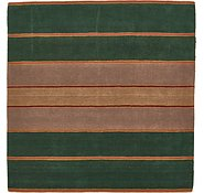 Link to 6' 9 x 6' 9 Reproduction Gabbeh Square Rug