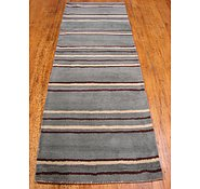 Link to 2' 9 x 8' 1 Reproduction Gabbeh Runner Rug