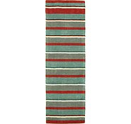 Link to 2' 9 x 8' 2 Reproduction Gabbeh Runner Rug