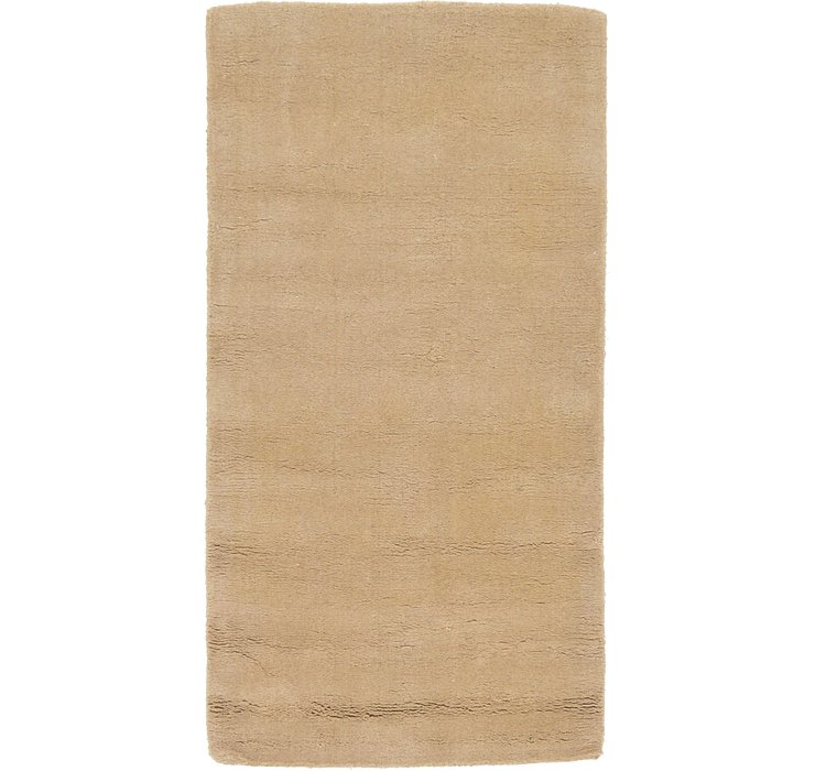 2' 4 x 4' 9 Reproduction Gabbeh Rug