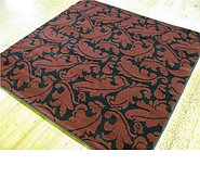 Link to 5' x 5' Reproduction Gabbeh Square Rug