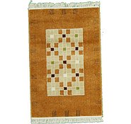 Link to 2' 7 x 4' Reproduction Gabbeh Rug