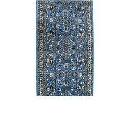Link to 2' 7 x 100' Tabriz Design Runner Rug