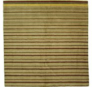 Link to 7' 11 x 8' 3 Reproduction Gabbeh Square Rug