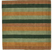 Link to 6' 6 x 6' 6 Reproduction Gabbeh Square Rug