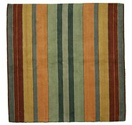 Link to 6' 7 x 6' 8 Reproduction Gabbeh Square Rug