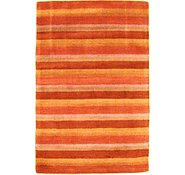 Link to 4' 2 x 5' 11 Reproduction Gabbeh Rug