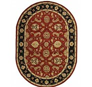 Link to 8' 1 x 11' 4 Classic Agra Oval Rug