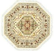 Link to 5' x 5' Heriz Design Octagon Rug