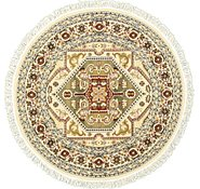 Link to 5' x 5' Heriz Design Round Rug
