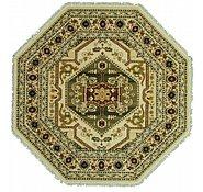 Link to 9' 10 x 9' 10 Heriz Design Octagon Rug