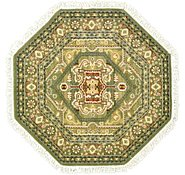 Link to 5' x 5' Heriz Design Octagon Rug