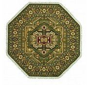 Link to 9' 10 x 9' 10 Heriz Design Octagon Rug