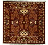 Link to 9' 10 x 9' 10 Meshkabad Design Square Rug