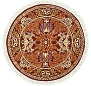 Link to 5' x 5' Damask Round Rug