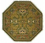Link to 5' x 5' Meshkabad Design Octagon Rug