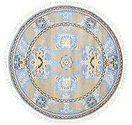 Link to 5' x 5' Meshkabad Design Round Rug