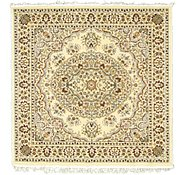 Link to 5' x 5' Kashan Design Square Rug