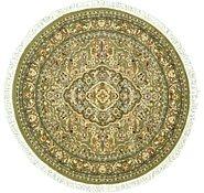 Link to 5' x 5' Kashan Design Round Rug