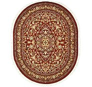 Link to 6' 7 x 8' 2 Kashan Design Oval Rug