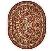 Link to 6' 7 x 8' 2 Kashan Design Oval Rug