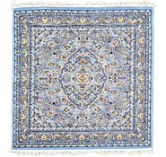 Link to 5' x 5' Kashan Design Square Rug