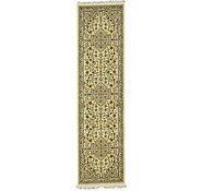 Link to 2' 7 x 9' 10 Kashan Design Runner Rug
