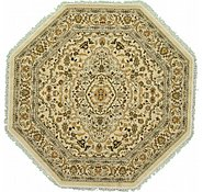 Link to 5' x 5' Kashan Design Octagon Rug