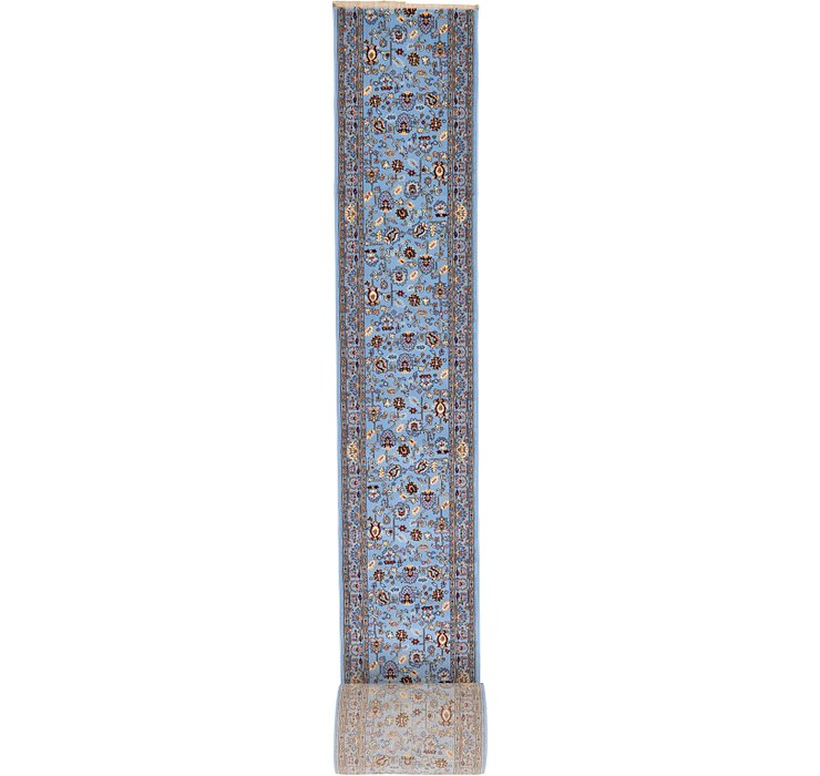 2' 7 x 65' 7 Tabriz Design Runner Rug