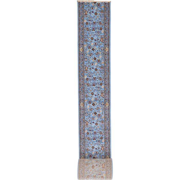 80cm x 2000cm Tabriz Design Runner Rug