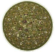 Link to 9' 10 x 9' 10 Tabriz Design Round Rug