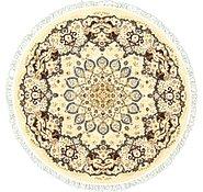 Link to 5' x 5' Mashad Design Round Rug