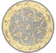 Link to 11' 11 x 11' 11 Classic Agra Round Rug