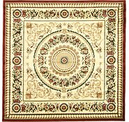 Link to 8' 2 x 8' 2 Classic Aubusson Square Rug