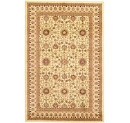 Link to 5' x 7' 7 Mashad Design Rug