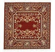 Link to 5' x 5' Kerman Design Square Rug