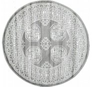 Link to 5' x 5' Bokhara Round Rug