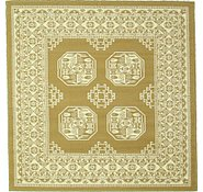 Link to 5' x 5' Bokhara Square Rug