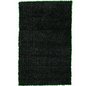 Link to 3' 5 x 5' 5 Solid Shag Rug