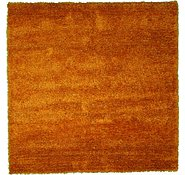 Link to 8' 3 x 8' 3 Solid Shag Square Rug