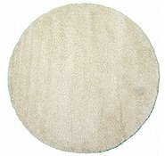 Link to 8' x 8' Solid Shag Round Rug