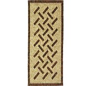 Link to 2' 6 x 8' Wooden Wood Runner Rug