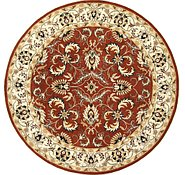 Link to 11' 9 x 11' 9 Classic Agra Round Rug