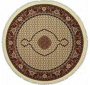Link to 8' 2 x 8' 2 Tabriz Design Round Rug