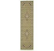 Link to 2' 7 x 9' 10 Tabriz Design Runner Rug