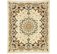 Link to 8' 2 x 10' Mashad Design Rug